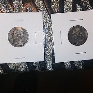 2 rare nickel lot